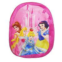 """Мягкий рюкзак Е 12421 """"Принцессы"""""""
