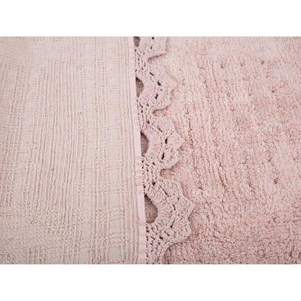 Набор ковриков Irya - Mina pembe розовый 60*90+40*60, фото 2