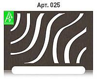 Декоративная решетка на радиатор отопления из  МДФ (лазерная резка)