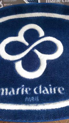 Коврик для ванной Marie Claire - Sally темно синий 66*107 овал, фото 2