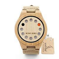 Оригинальные деревянные часы BOBO BIRD оптом (код 36334)