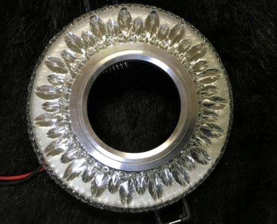 Точечный светильник SEAN SL-312 MR16 с LED подсветкой прозрачный Код.58745
