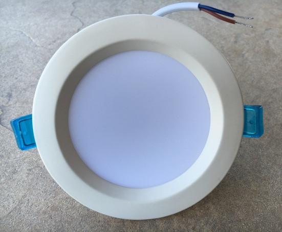 Светодиодный светильник встраиваемый SL-009 9W 4500К круг. белый Код.54743