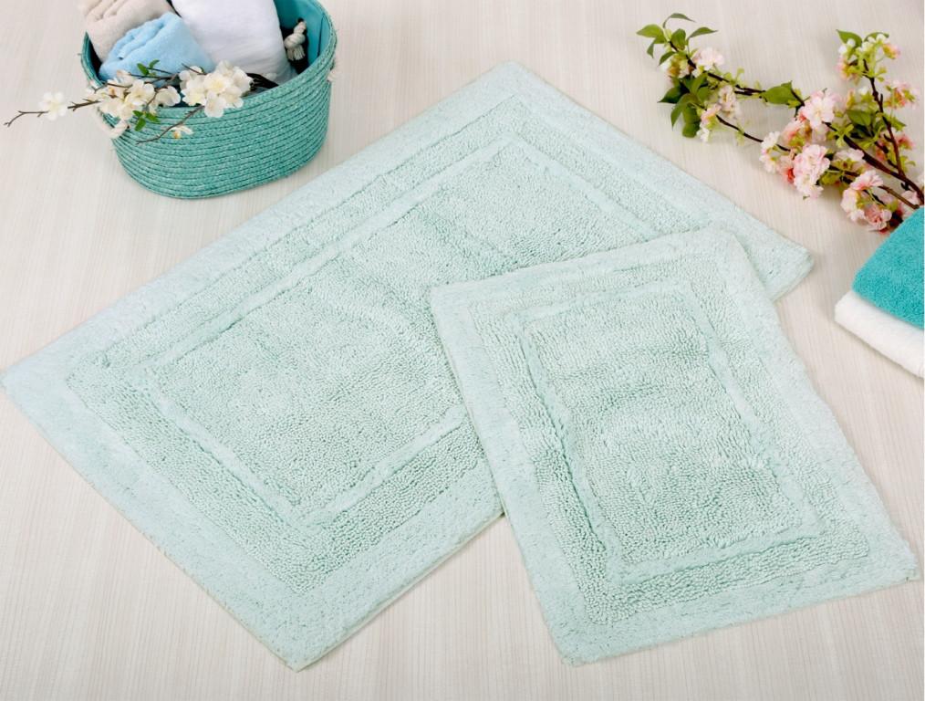 Набор ковриков Irya - Superior aqua аква 60*90+40*60