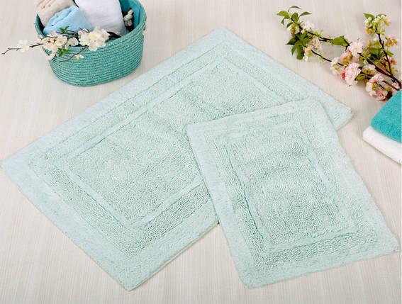 Набор ковриков Irya - Superior aqua аква 60*90+40*60, фото 2