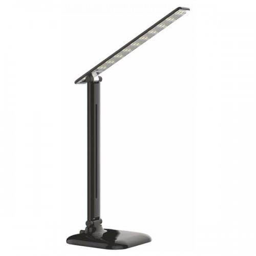 Світлодіодна настільна лампа SEAN SL-5010-9W 4000K чорна, сенсор, диммер, Код.58827