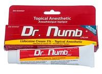Крем анестетик Dr.Numb (Др. Намб) Original 30мл. 5% лидокаина