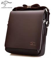 Стильная мужская сумка KANGAROO. Сумка-планшетка - сумка через плечо.
