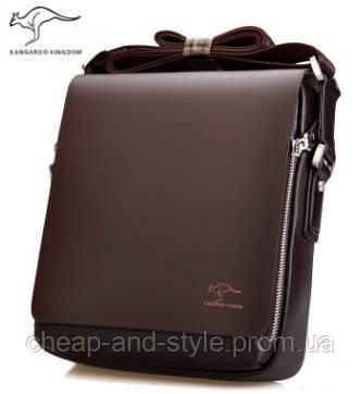 Стильная мужская сумка KANGAROO. Сумка-планшетка - сумка через плечо. -  Cheap and 5b4faf36e4274