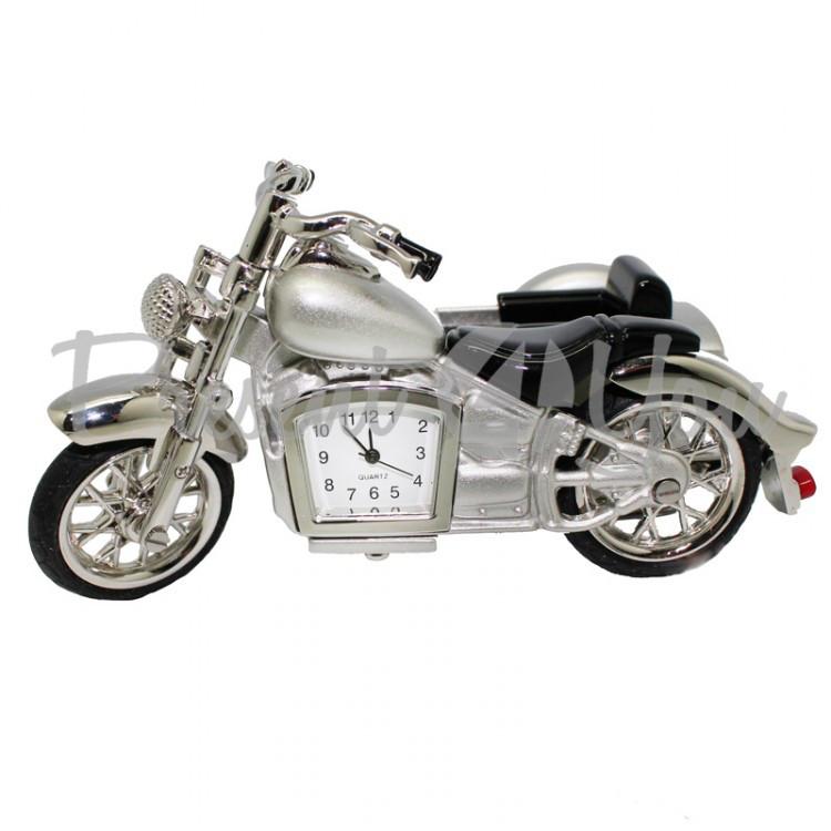 Мотоцикл с часами, h-11,5 см (210-6005)
