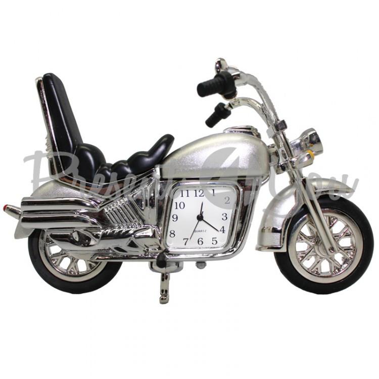 Мотоцикл с часами, h-12,5 см (210-6002)