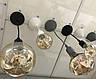Декоративний підвіс для LED лампи SL-072 V-подібний Е27 сірий Код.58965, фото 3