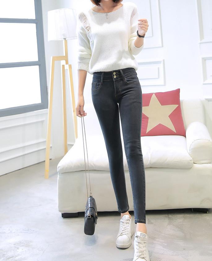 Женские джинси AL-8419-10