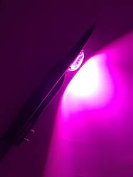 Світлодіодний консольний фитосветильник SL-50 Lens 50W IP65 (full fito spectrum led) Код.59045