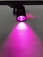 Светодиодный трековый фитосветильник SL-4003F 20W (full spectrum led) черный Код.59089