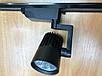 Светодиодный трековый фитосветильник SL-4003F 20W (full spectrum led) черный Код.59089, фото 4