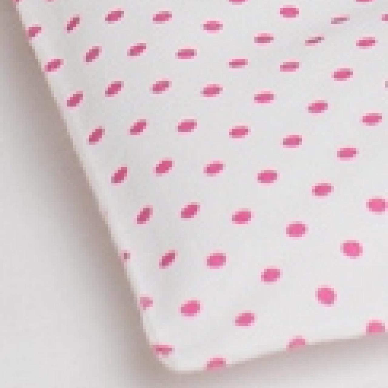 """Підковдра в дитяче ліжечко """"Рожевий горошок"""""""