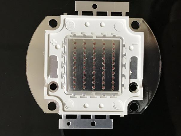 Світлодіод матричний PREMIUM СОВ для прожектора SL-50 50W червоний (45Х45 mil) Код.59164