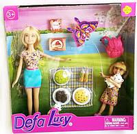 """Кукла с аксессуарами """"Приятное воскресенье"""" DEFA"""