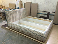 """Кровать двуспальная в современном стиле """"Lilium"""" по индивидуальному заказу, дизайну"""