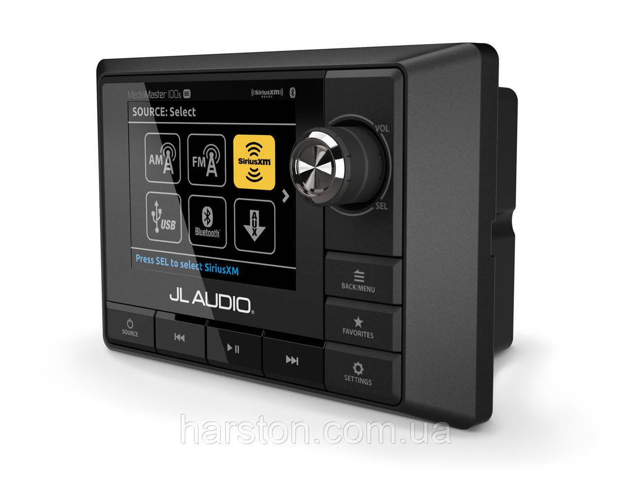Морская магнитола Jl Audio MM100s-BE LCD Display
