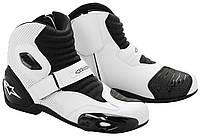 Обувь Alpinestars S-MX 1  white/black, 43