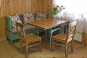 Стілець обідній з масиву ясена Прованс РКБ-Меблі, колір на вибір, фото 2
