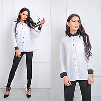 Рубашка однотонная 1040