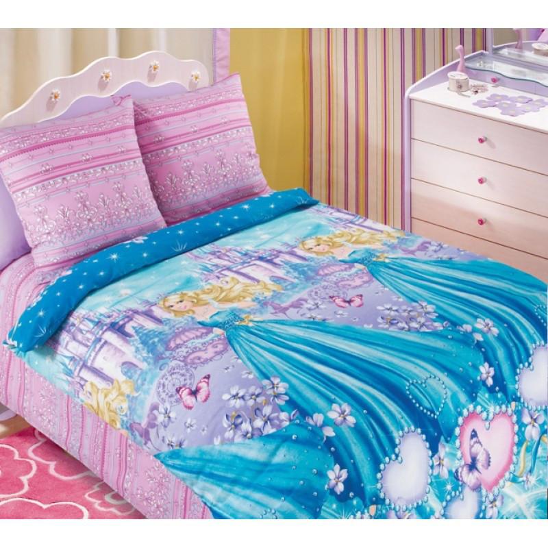 Постельное белье Золушка бязь ТМ Царский дом в кроватку