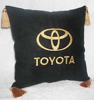 Автомобильные подушки с логотипом оптом