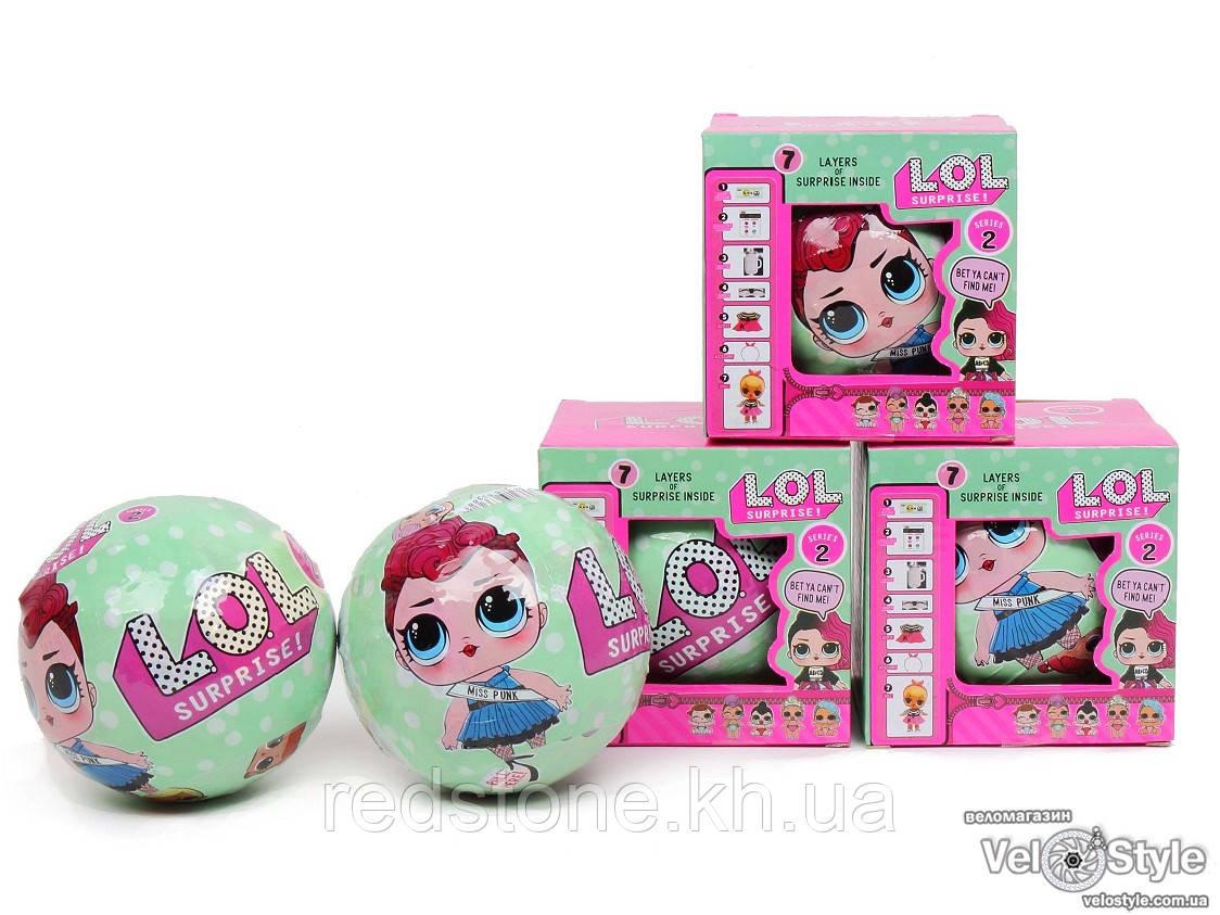 Кукла L.O.L. Big Sisters Miss Punk 2 series ЛОЛ Леди Панк 2 серия
