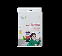 Набор для детского творчества Светящиеся в темноте витражные краски Genio Kids (7304)