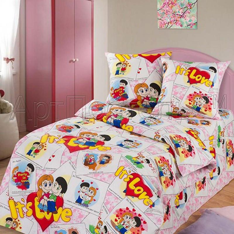 Постельное белье Очаровашки бязь ТМ Царский дом в кроватку
