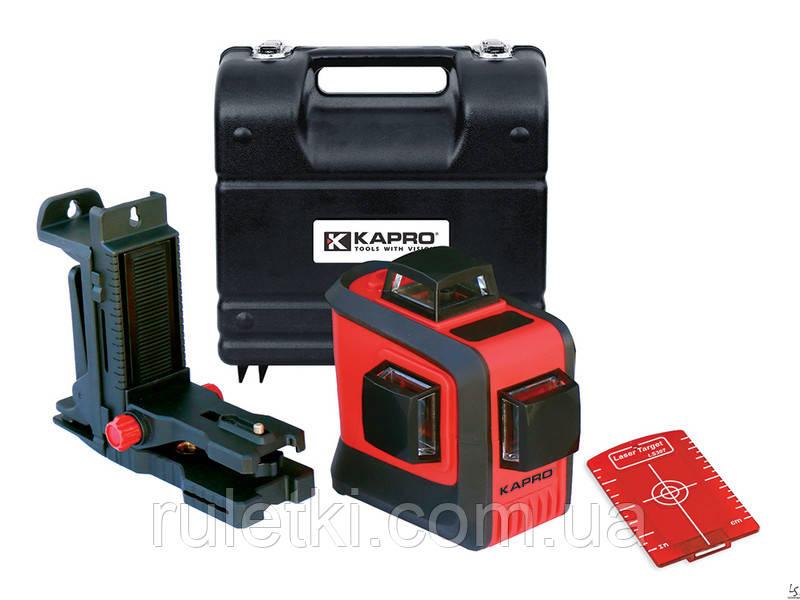 KAPRO Уровень лазерный 3D в кейсе 883N