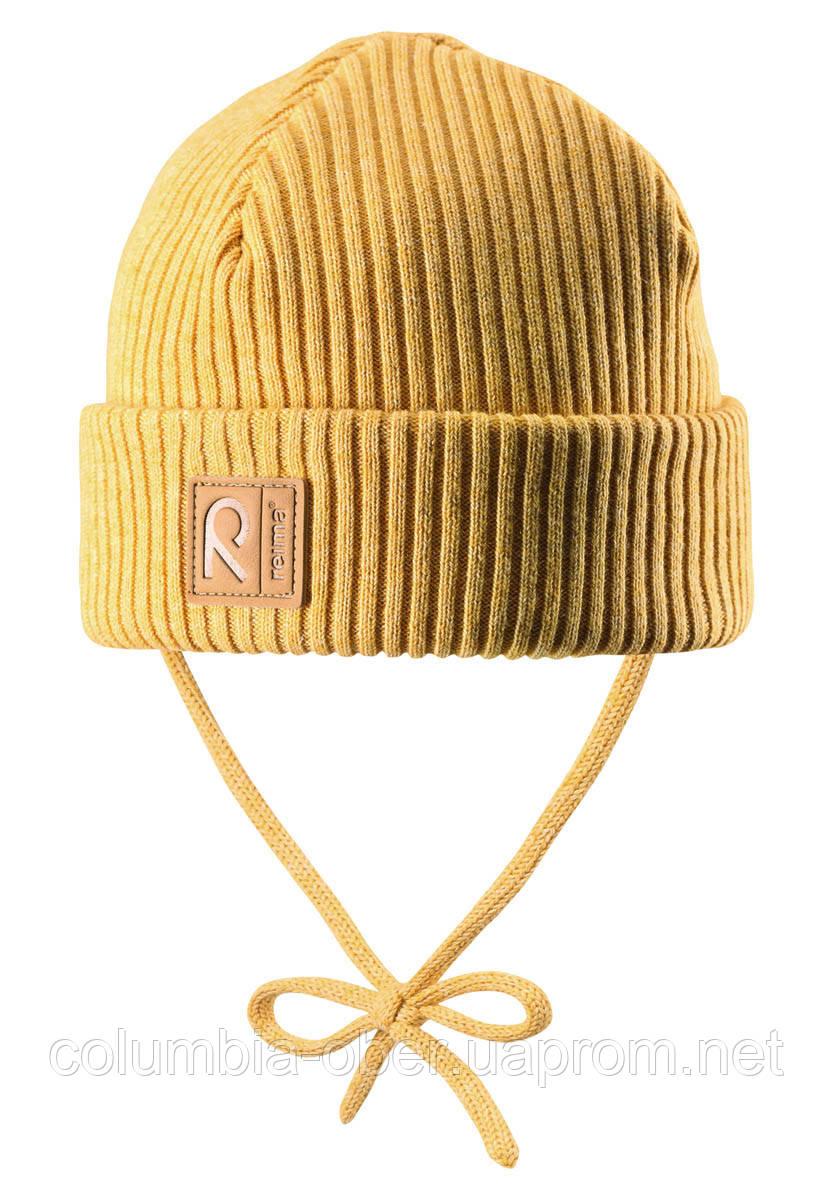 Демисезонная шапка для девочки Reima Kastanja 518421-2460. Размеры 46-52.
