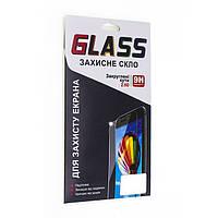 Защитное стекло с рамкой для экрана Meizu M6 Note (белое)