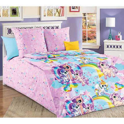 Постельное белье Звездочка Литл Пони бязь ТМ Царский дом в кроватку, фото 2
