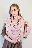 Красивый легкий длинный шарф, усыпанный блестками.
