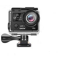 Action камера EKEN H6S с цифровой стабилизацией изображения Черный