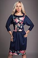 Платье с цветами 50-52 размер, фото 2