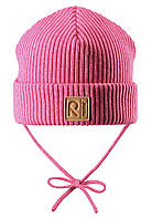 Демисезонная шапка для девочки Reima Kastanja 518421-4620. Размеры 46-52., фото 1