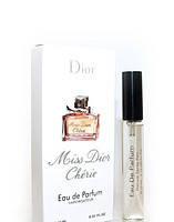Женский мини парфюм с феромонами Christian Dior Miss Dior Cherie (Кристиан Диор Мисс Диор Шери) 10 мл
