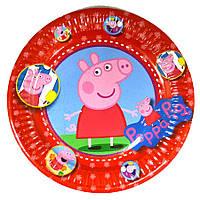 """Набор тарелок 10 штук """"Свинка Пепа 2"""" размер 180 мм"""