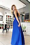Нарядное платье в пол. Размер 42, 44, 46. В наличии 5 цветов, фото 4