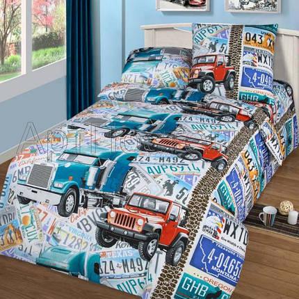 Постельное белье Автобан бязь ТМ Царский дом в кроватку, фото 2