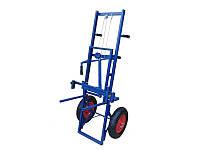 Тележка-подъемник предназначена для транспортировки ульев или их комплектующих по территории пасеки