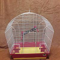 Клетка для попугаев «Лина» 44х27х54 см