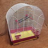 Клетка для попугаев «Лина» 44х27х54 см, фото 2
