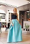 Нарядное платье в пол. Размер 42, 44, 46. В наличии 5 цветов, фото 8