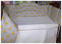 """Защита-ограждение-бортики в детскую кроватку. """"Антошка"""""""